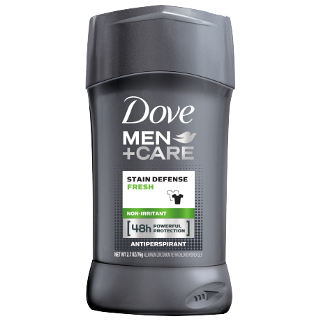 Dove Men+Care Stain Defense Fresh Antiperspirant Deodorant Stick 2.7 oz