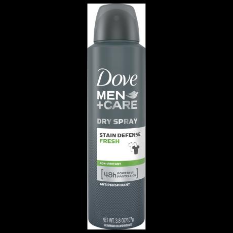 Dove Men+Care Stain Defense Fresh Antiperspirant Deodorant Dry Spray 3.8 oz