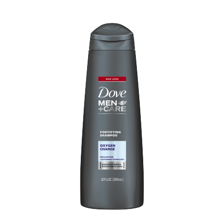 Dove Men+Care Oxygen Charge Fortifying Shampoo 12oz