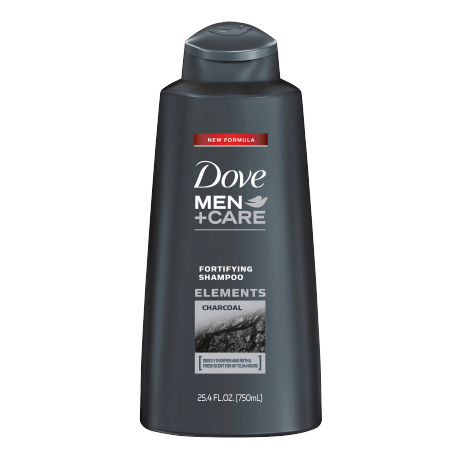 Dove Men+Care Elements Charcoal Fortifying Shampoo 25.4 oz
