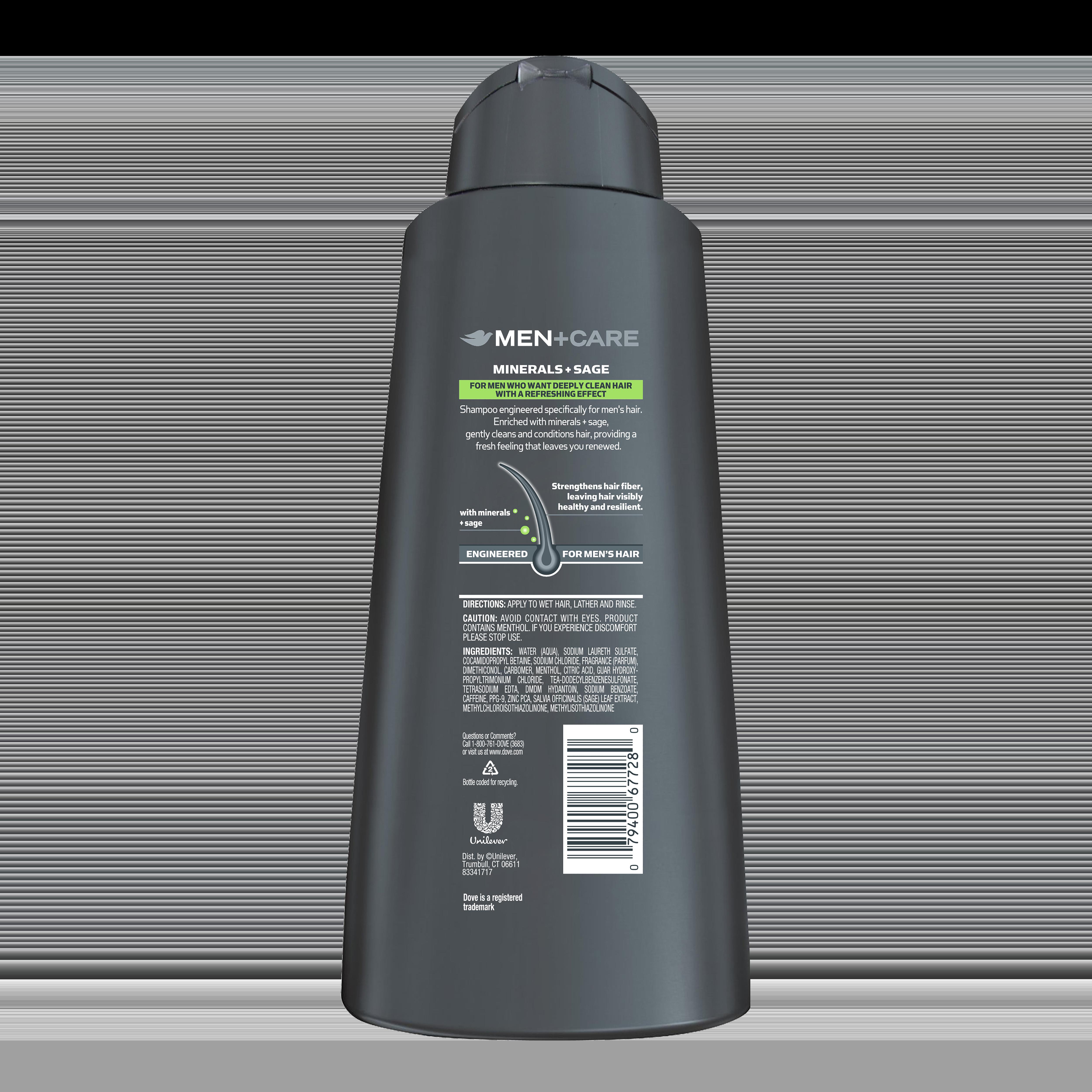 Shampoo For Men Dove Mencare Dove