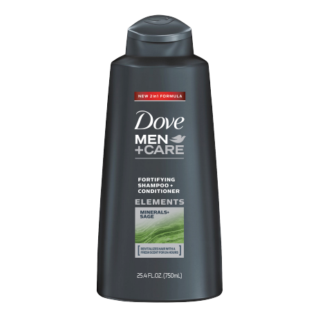 Dove Men+Care Elements Minerals + Sage Fortifying Shampoo and Conditioner 25.4 oz