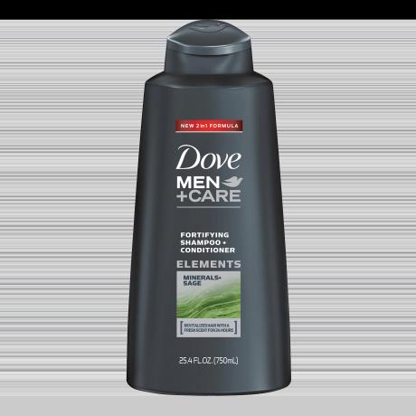 Dove Men+Care Minerals + Sage Fortifying Champú y Acondicionador 25.4oz