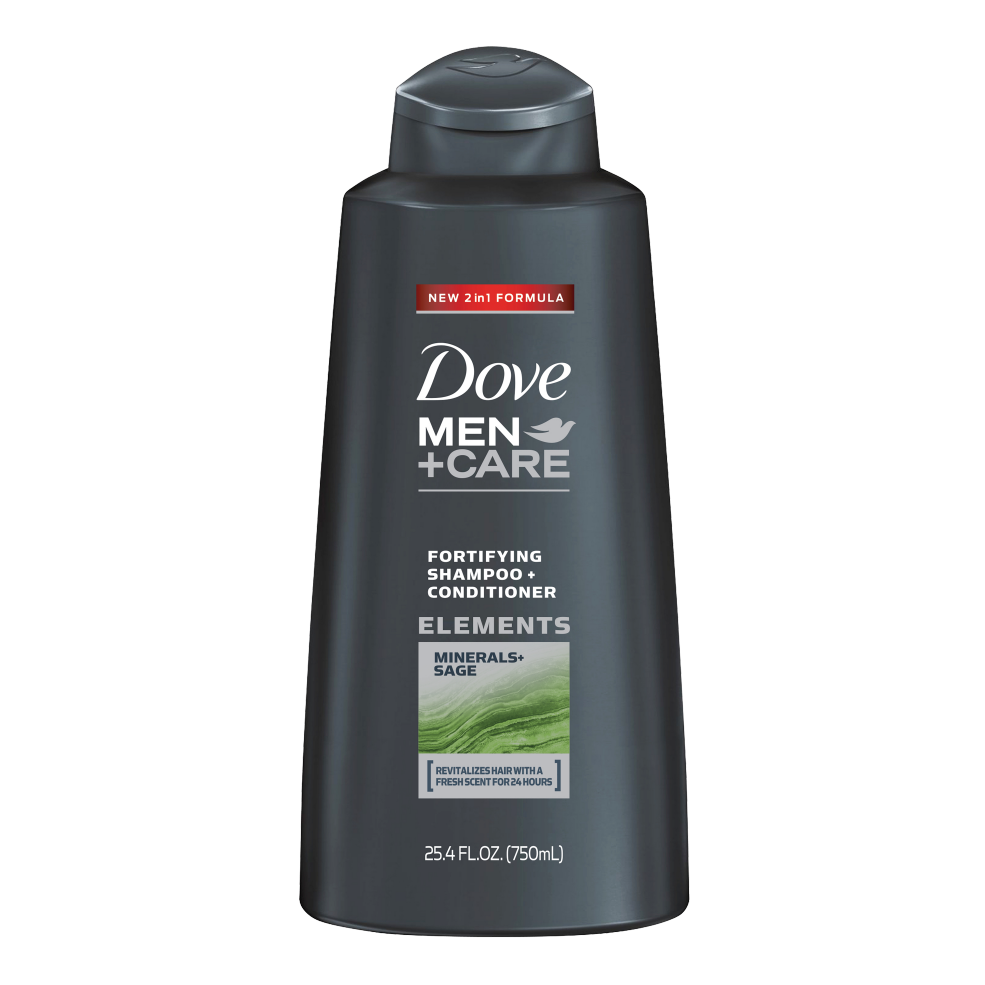Dove Men+Care Fresh & Clean Fortifying 2-in-1 Shampoo | Dove