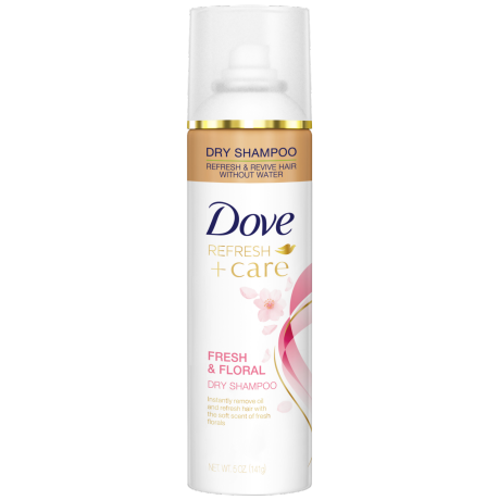 Dove Fresh and Floral Dry Shampoo 5 oz