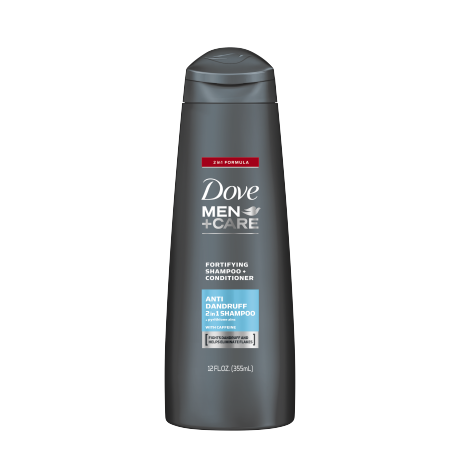 Dove Men+Care Anti-Dandruff Fortifying 2-in-1 Shampoo and Conditioner 12oz