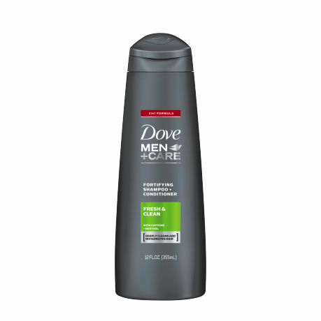 Dove Men+Care Fresh & Clean Fortifying 2-in-1 Shampoo 12 oz