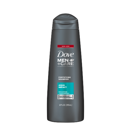 Dove Men+Care Aqua Impact Fortifying Shampoo 12 oz