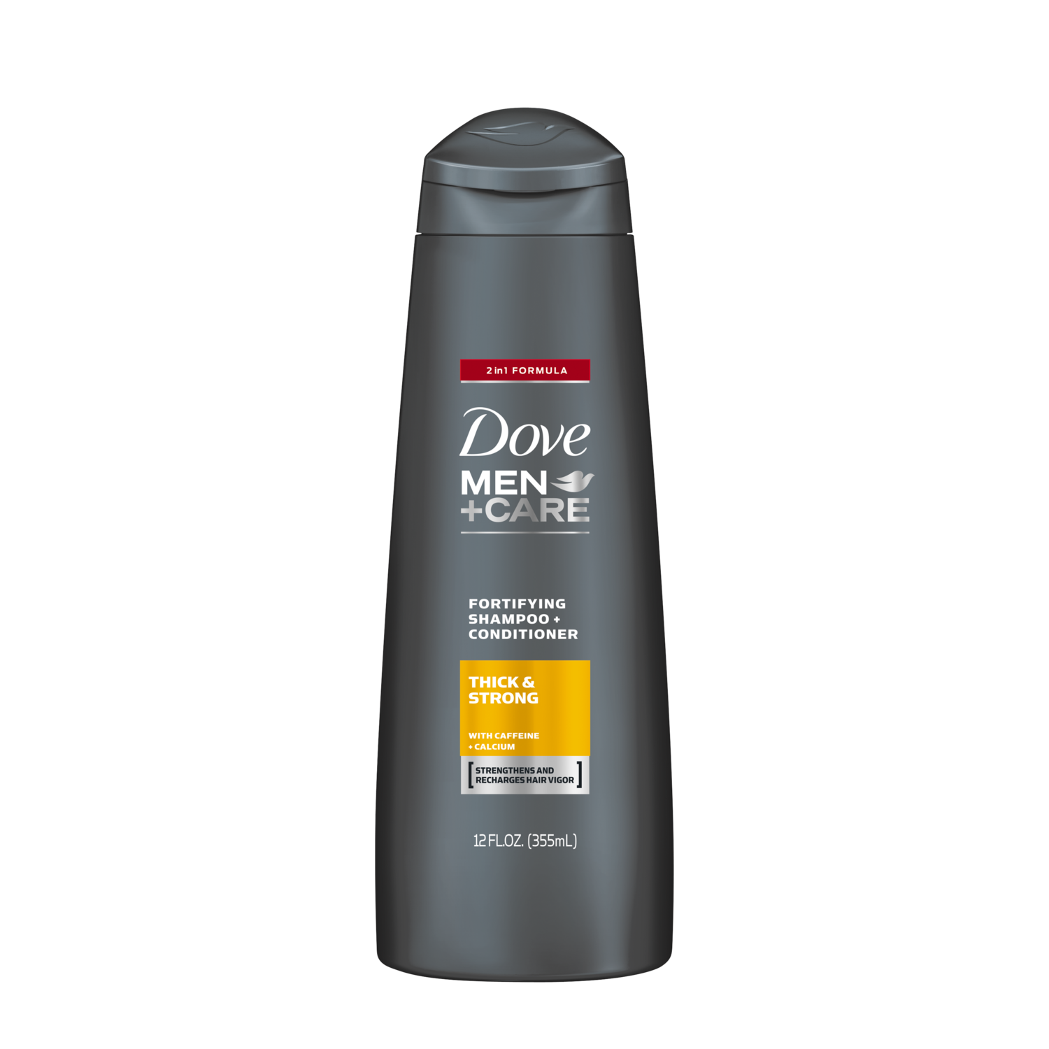 dove dove men+care thick and strong fortifying 2in1 shampoo +