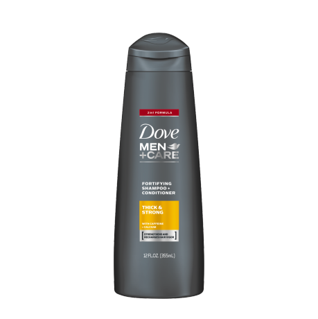 Dove Dove Men+Care Thick and Strong Fortifying 2in1 Shampoo + Conditioner 12 oz.