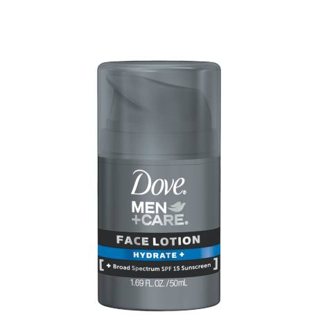Dove Men+Care Hydrate+ Face Lotion 1.69 oz.