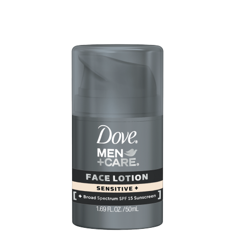 Dove Men+Care Sensitive+ Face Lotion 1.69 oz