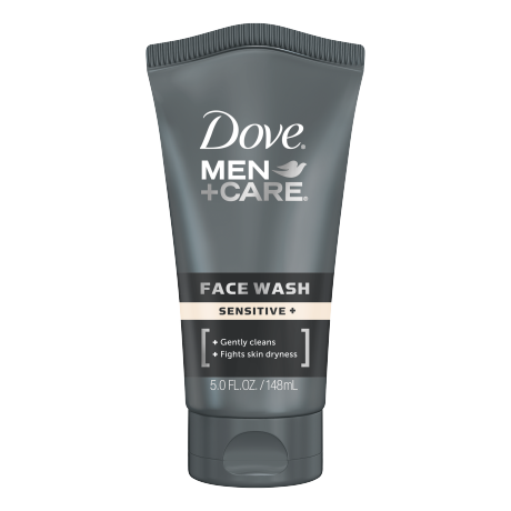 Dove Men+Care Sensitive+ Face Wash 5 oz