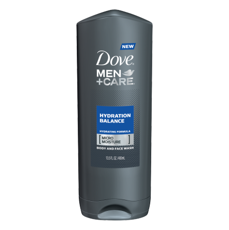 Dove Men+Care Hydration Balance Body and Face Wash 13.5 oz