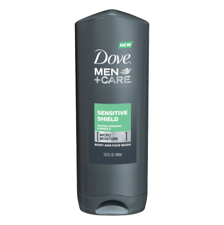 Dove Men+Care Sensitive Shield Body and Face Wash 13.5 oz