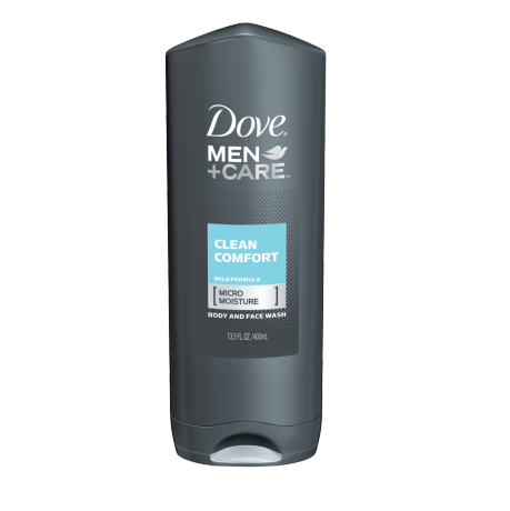 Dove Men Care Clean Comfort Body And Face Wash