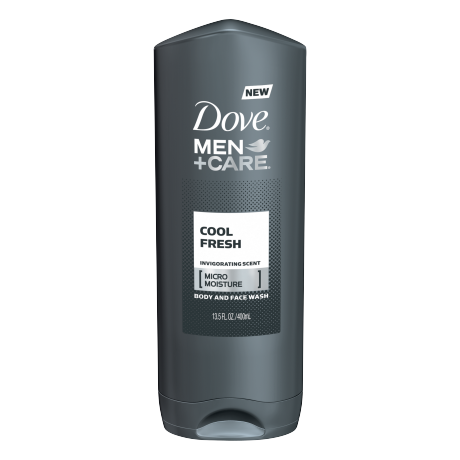 Dove Men+Care Cool Fresh Body and Face Wash 13.5 oz
