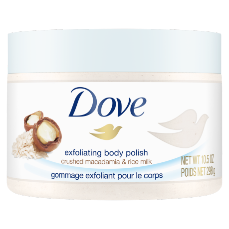 Exfoliating Body Polish Crushed Macadamia & Rice Milk 298g
