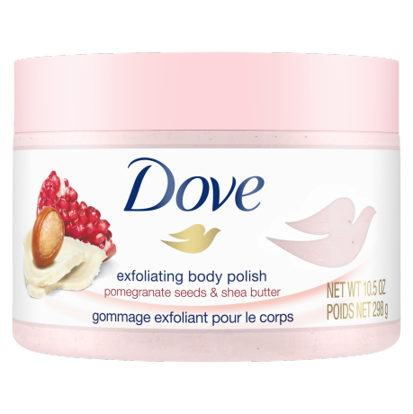 Exfoliating Body Polish Pomegranate Seeds & Shea Butter 298g