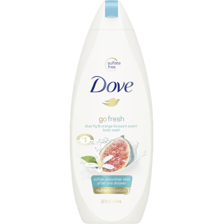 Dove Go Fresh Restore Body Wash 22 oz
