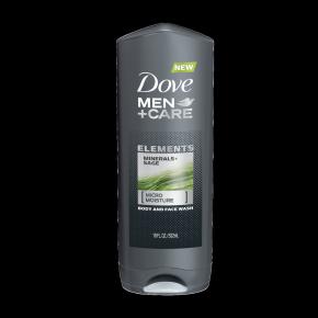 Dove Men+Care Elements Minerals + Sage Body Wash 18 oz
