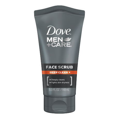Dove Men+Care Deep Clean+ Face Scrub 5 oz