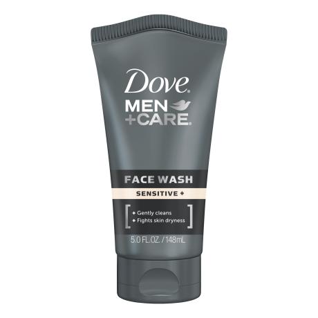 Dove Men+Care Sensitive+ Face Wash 5 oz.