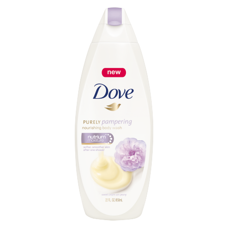 Dove Purely Pampering Sweet Cream with Peony Body Wash 22 oz