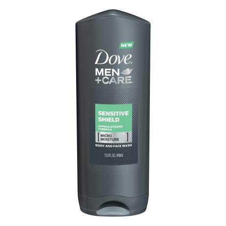 Dove Men+Care Sensitive Shield Body and Face Wash 13.5 oz