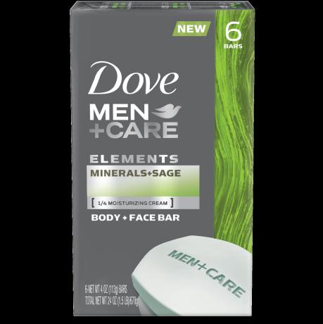 Dove Men+Care Elements Minerals + Sage Bar 6x4 oz
