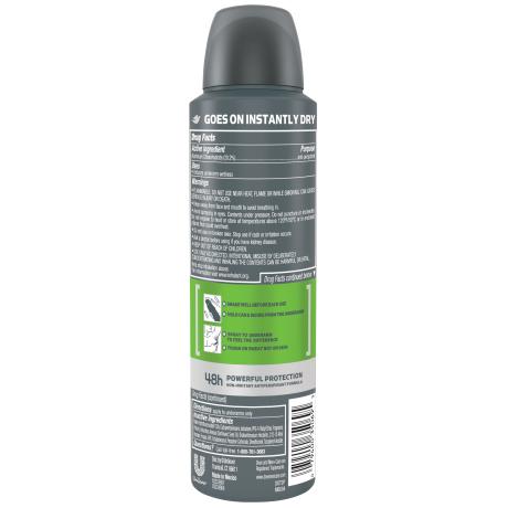 PNG - Dove Men+Care Dry Spray Antiperspirant Deodorant Extra Fresh 3.8 oz